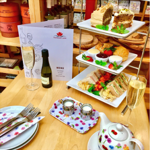 Celebration Afternoon Tea for Four Gift Voucher and Card