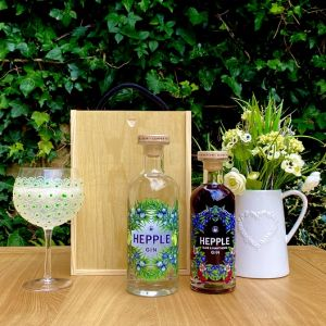 The Northumberland Hepple Gin Duo Hamper