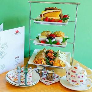 Afternoon Tea for Four Gift Voucher and Card