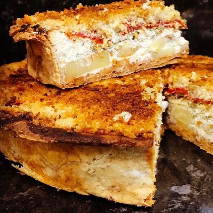goats cheese tart
