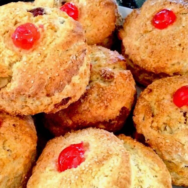 cherry scone