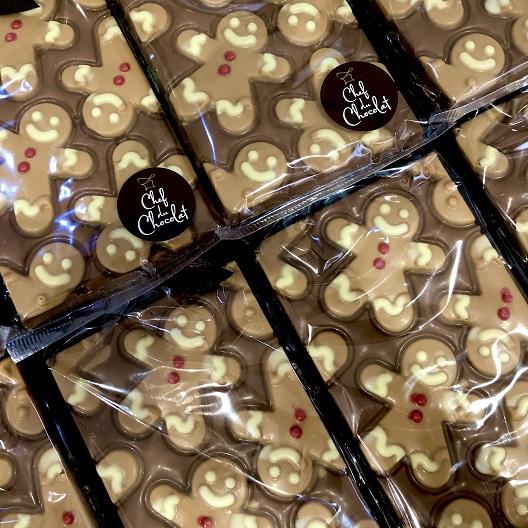 Gingerbread Man Choc Bar