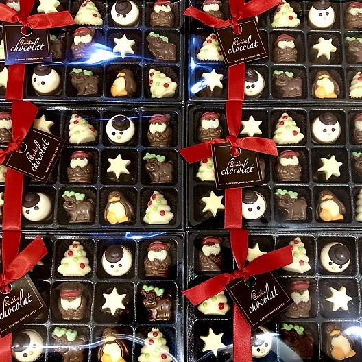 Chocolate Xmas Figures